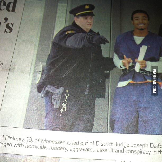 Ridiculously Photogenic Murder Suspect