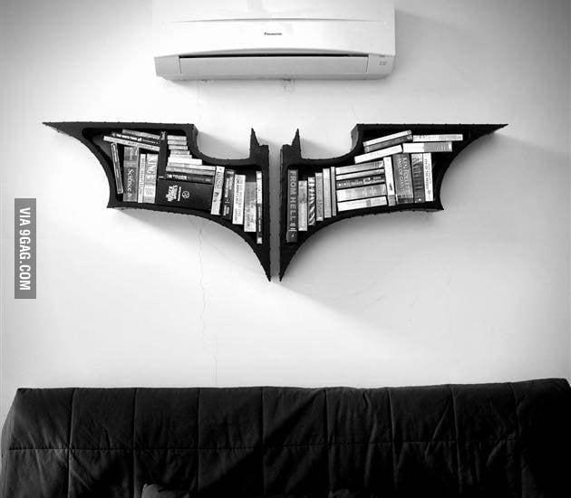 Na na na na na na na na na na bookshelf!