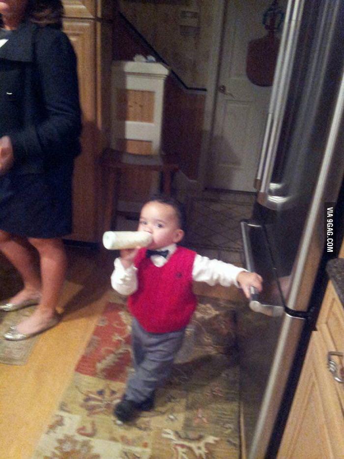 Want some milk, ladies?