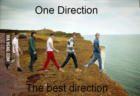 One direction,the best direction.