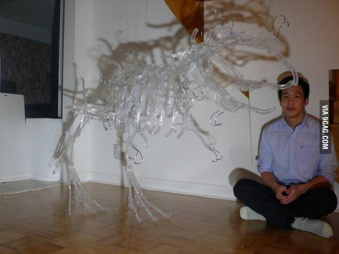 Awesome Hanger Dinosaur!