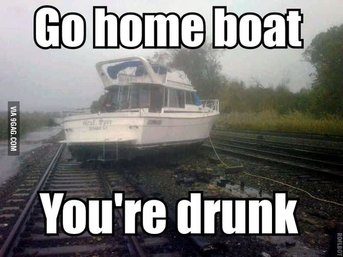 Go home boat