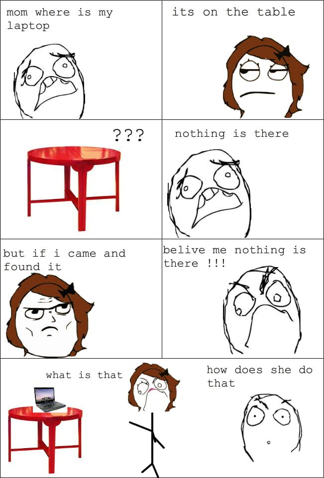 Sometimes it happens