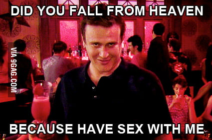 Pick-up lines when you've had too much to drink