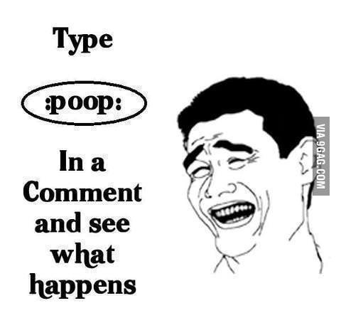 Awesome emoticon