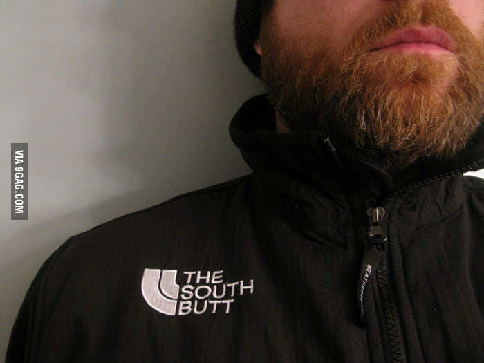 I love my new jacket: The South Butt.