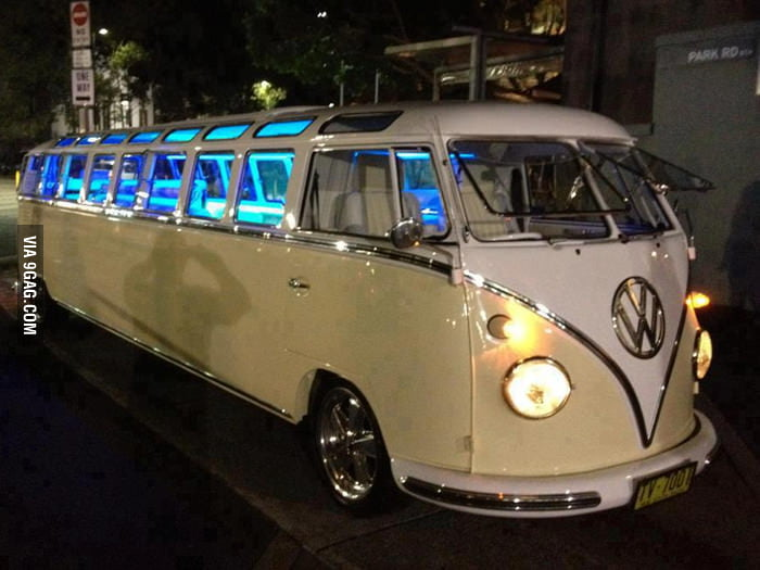 Have you ever seen a Volkswagen Bus Limo?
