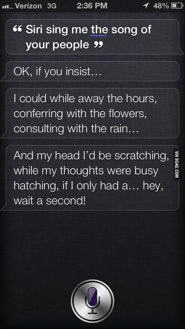 Siri's Song