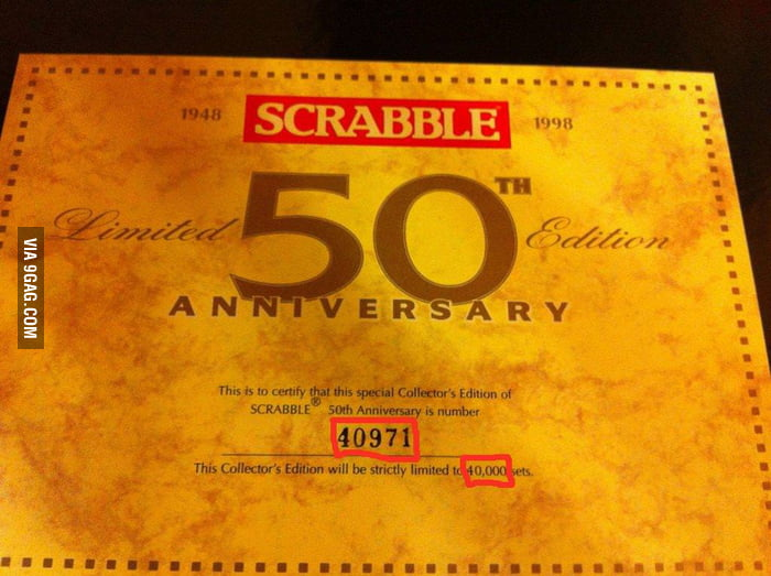 Scrabble having some troubles with numbers.