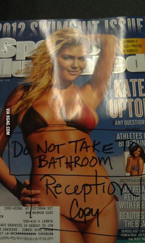 Do not take to bathroom.