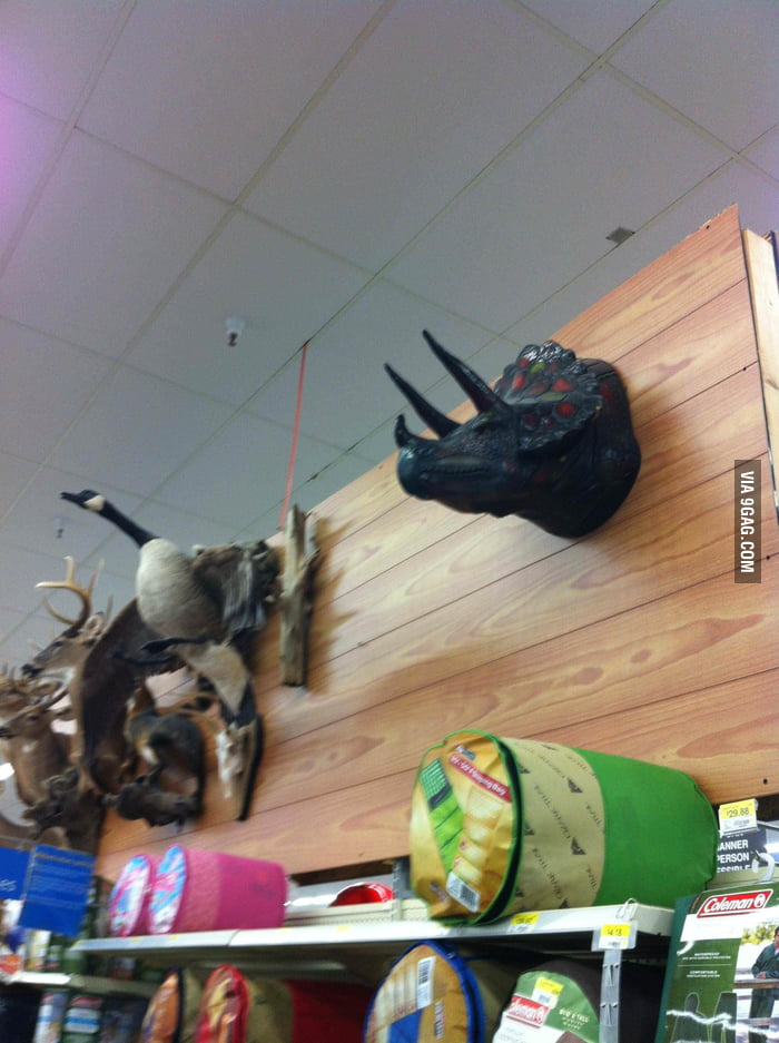 The hunting section in Walmart. Seems legit.