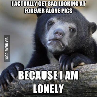 It's sad but true