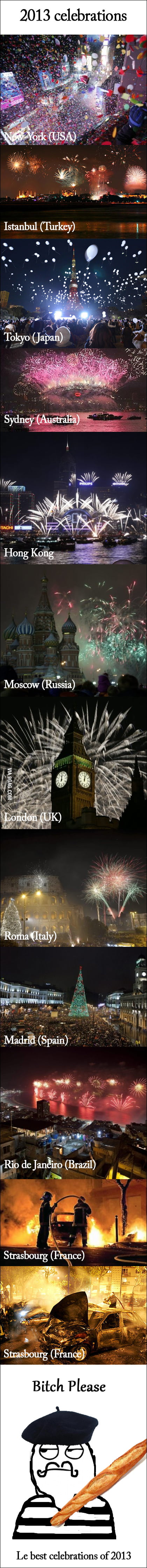 Celebrations of 2013