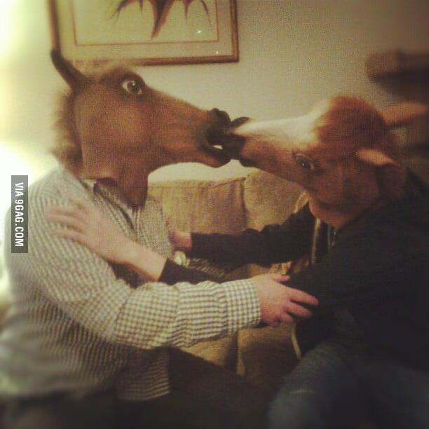 Kiss Level: Horse