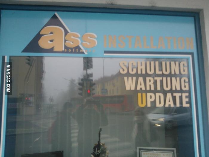 Strolling around Klagenfurt when suddenly...
