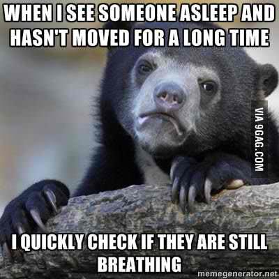 I'm too paranoid