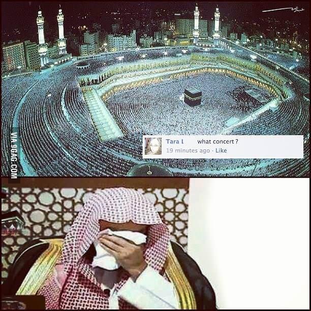 Muslim facepalm