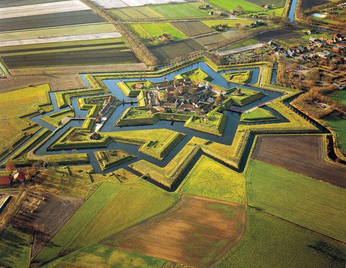 The Netherlands Star Fort