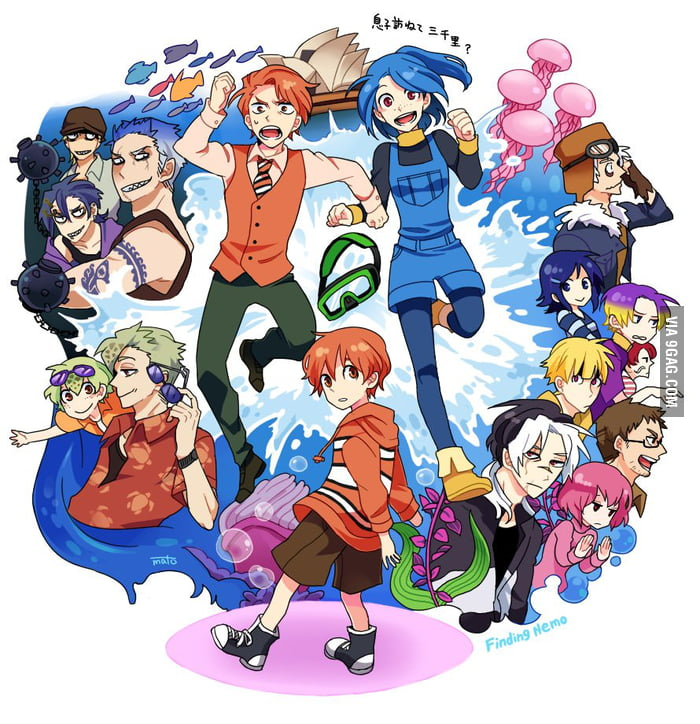 If Finding Nemo was an anime