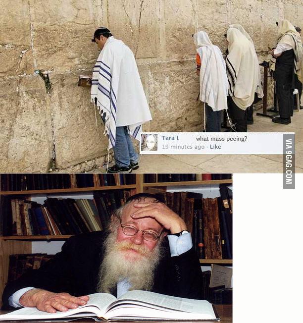 Jewish facepalm