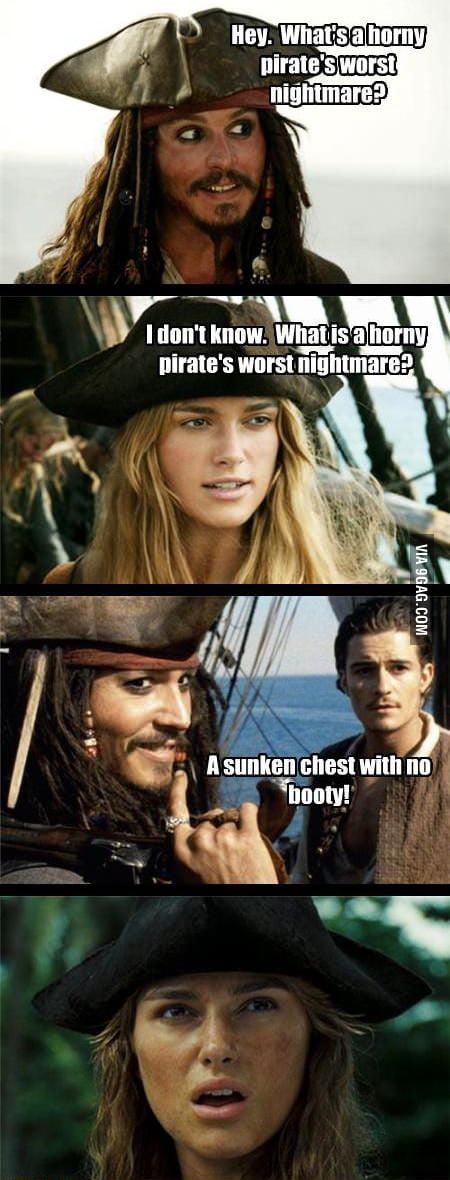 Pirates' worst nightmare