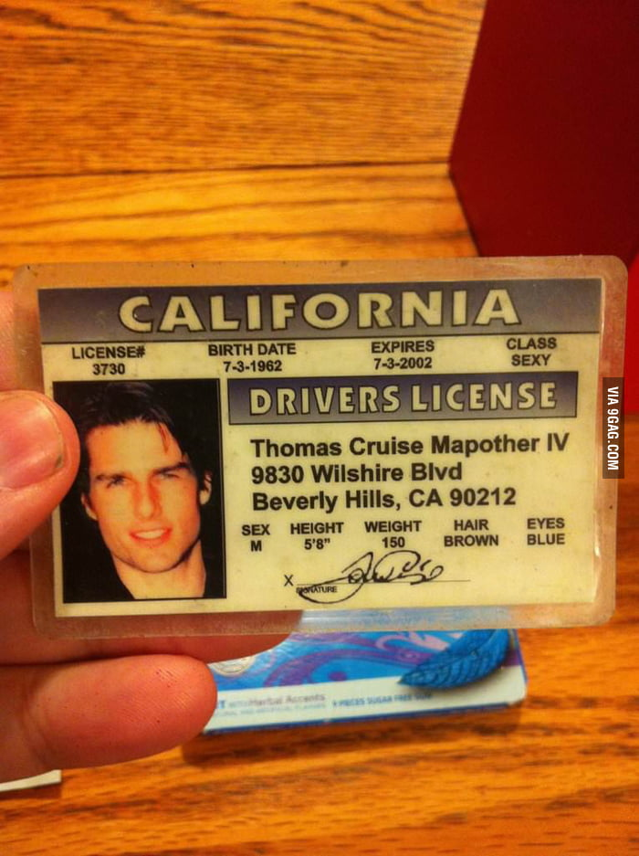 Found this driver license on a flight to LA.