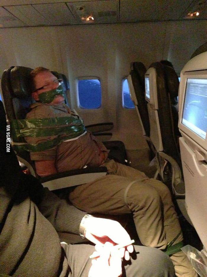What happens when you are drunk on a plane.