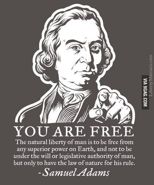 Freedom...we all have it!