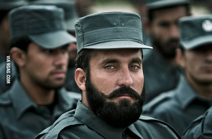 Incredibly Photogenic Afghan Policeman