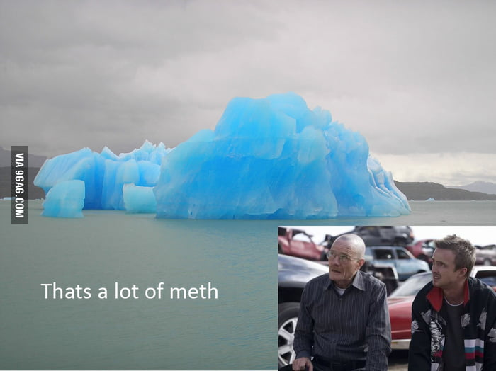 If this iceberg appears in Breaking Bad...