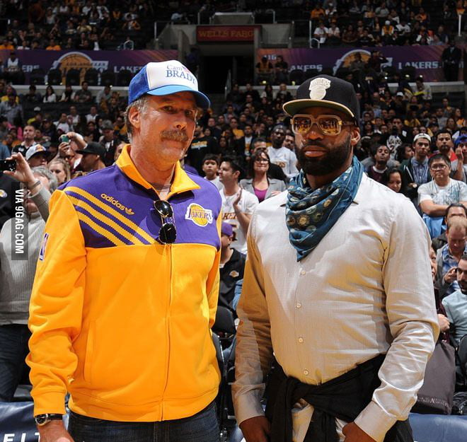 Will Ferrell went to a Laker game pretending to be their coa