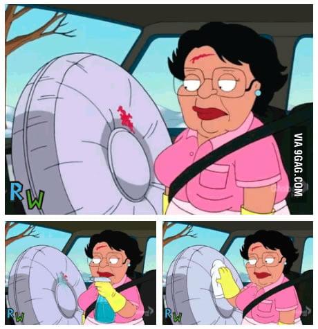 Oh Consuela...