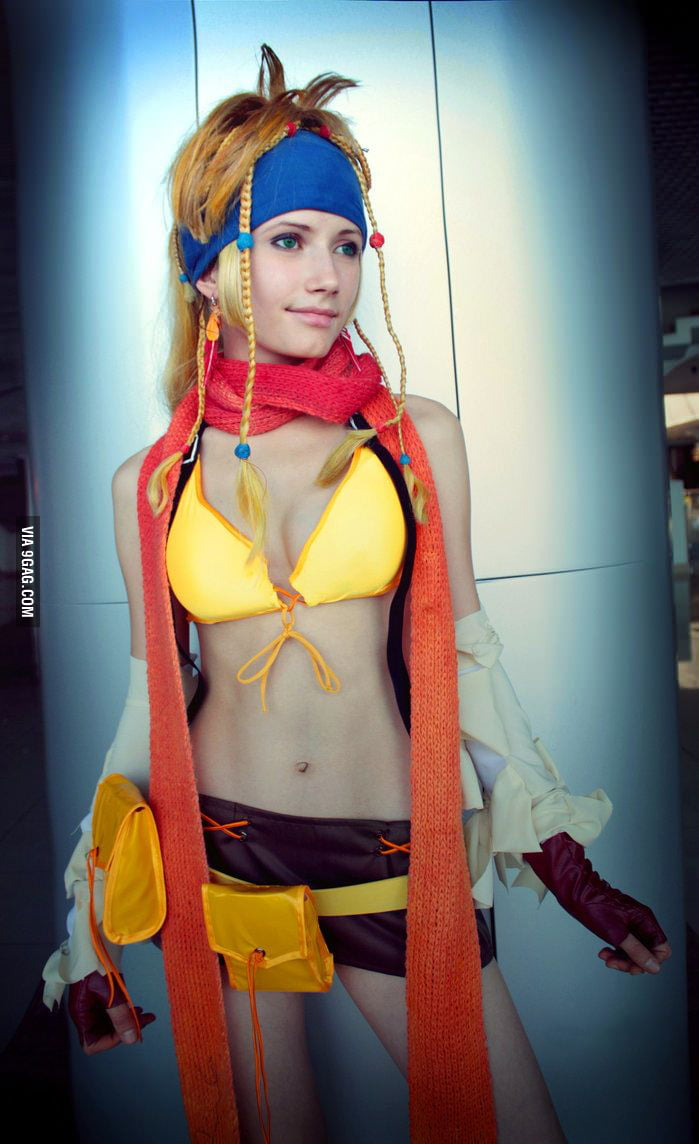 Awesome Rikku Cosplay