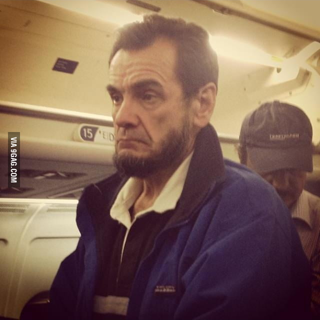 Abraham Lincoln was on my plane!
