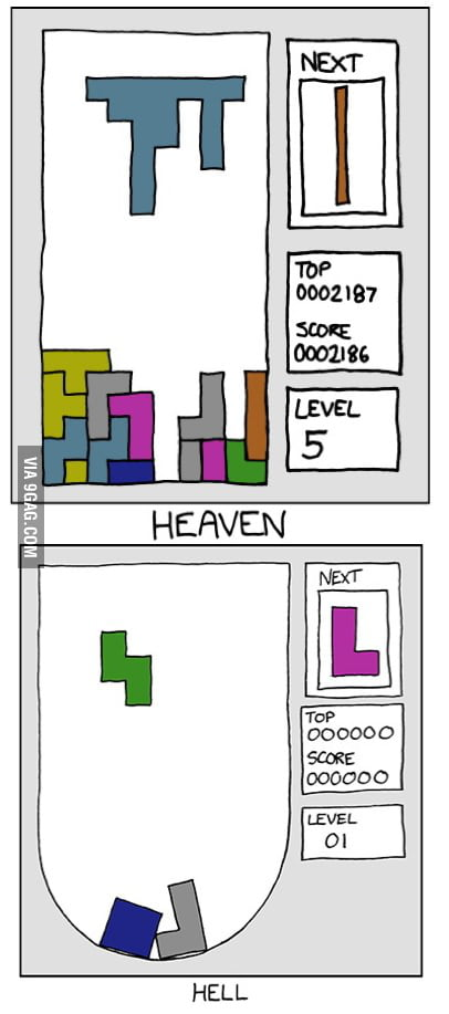 Tetris: Heaven and Hell