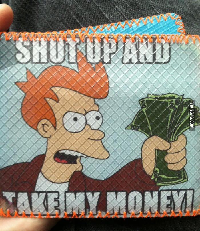 The perfect meme for a wallet!