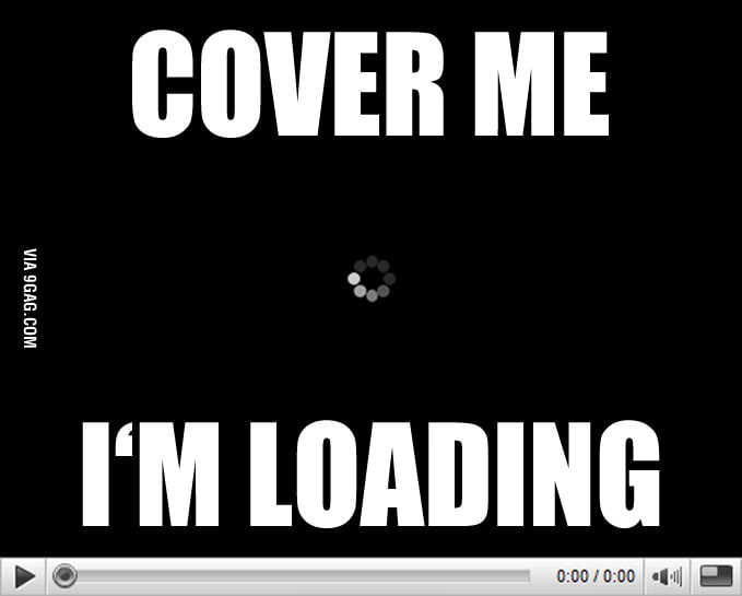 I'm loading
