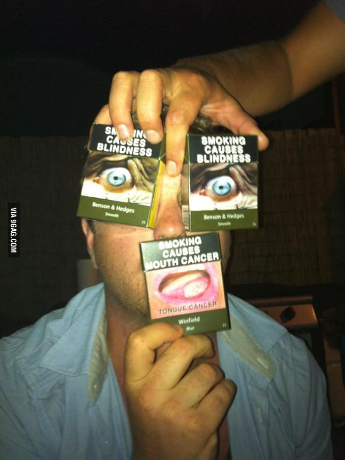 Smoking causes...