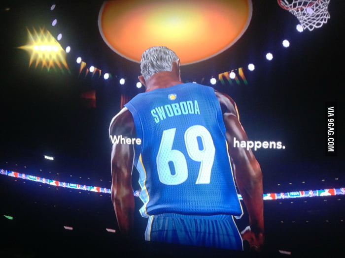 Your player can star in his own commercial in NBA 2K13.