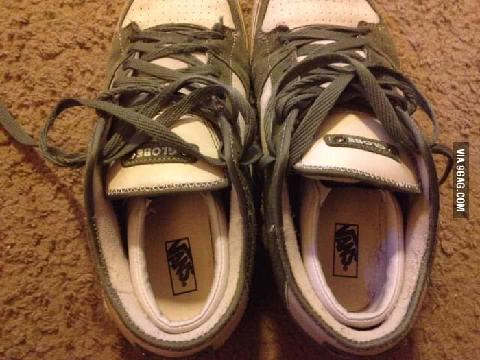 I was looking for my kid's shoes for 20 min.