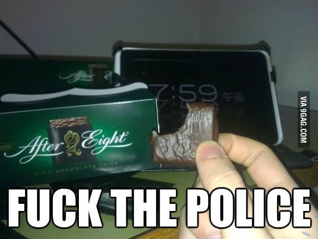 F**k the police!
