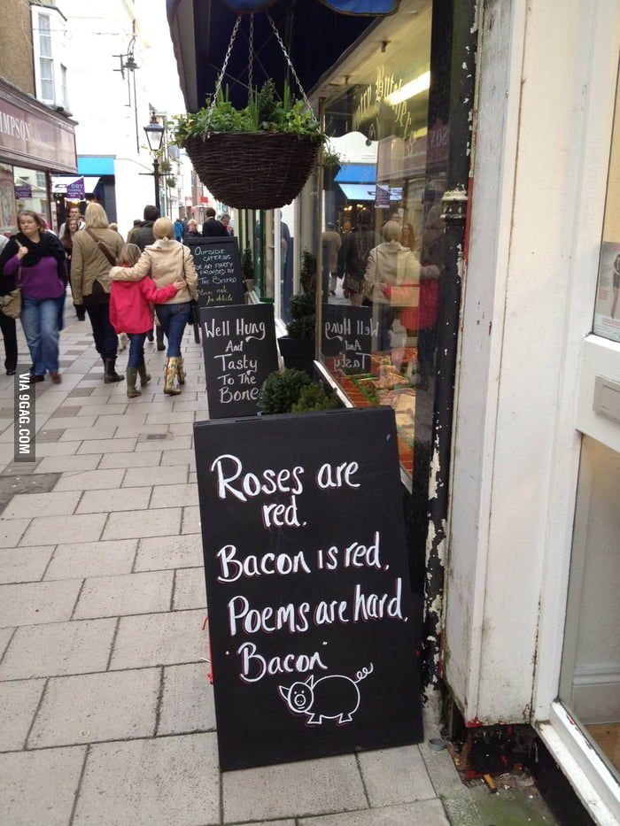 My local butcher has a sense of humour!