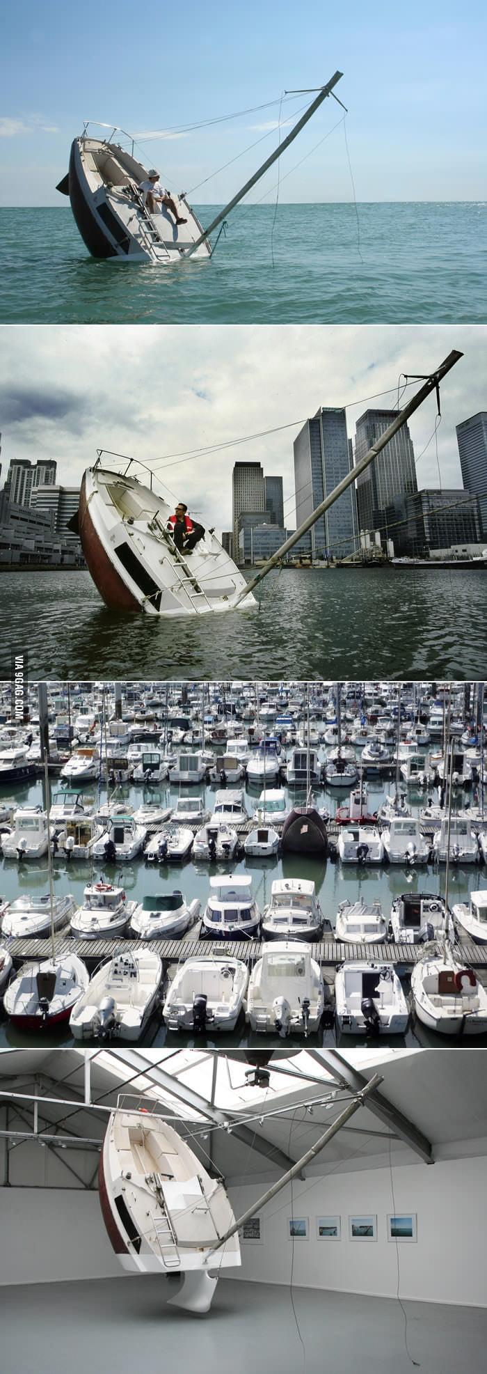 I should buy a troll boat.