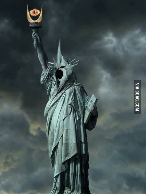 Nazgul of the liberty!