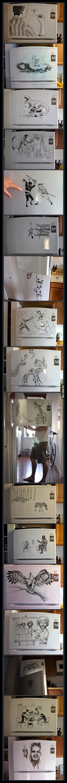 Amazing Fridge Drawing