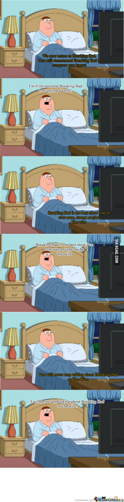 Family Guy has got it all figured out!