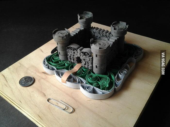 Cool Paper Castle