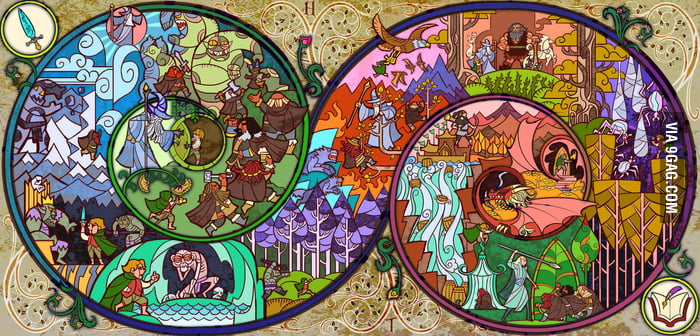 Tolkien in images