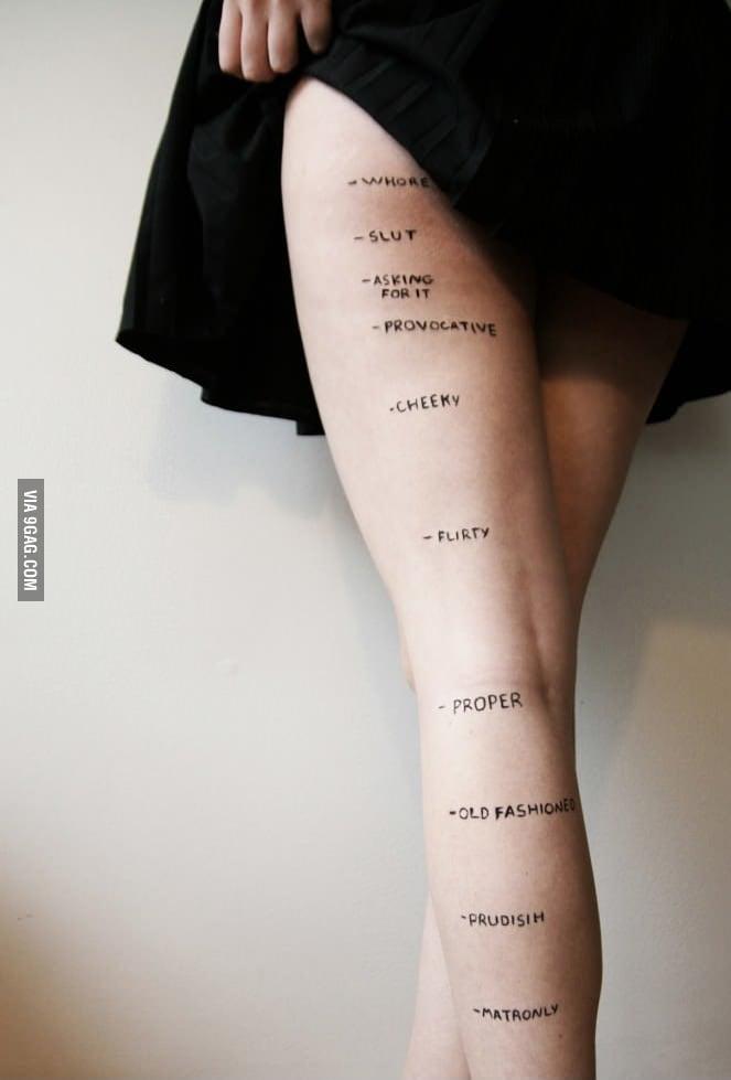 Skirt length