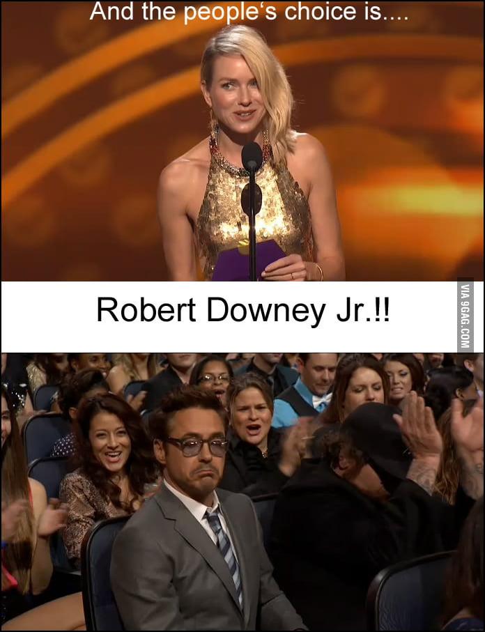 Not bad, Robert Downey Jr.